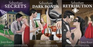 Cover Reveal ~ The Sebastian Trilogy